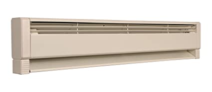 fahrenheat plf1004 hydronic baseboard heater, 46 inch, navajo whiteimage unavailable image not available for color fahrenheat plf1004 hydronic baseboard heater