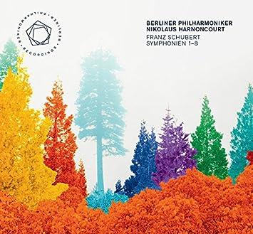 シューベルト : 交響曲全集 (Franz Schubert : Symphonien1-8 / Berliner Philharmoniker | Nikolaus Harnoncourt) [5SACD Hybrid] [輸入盤] [日本語帯・解説付]