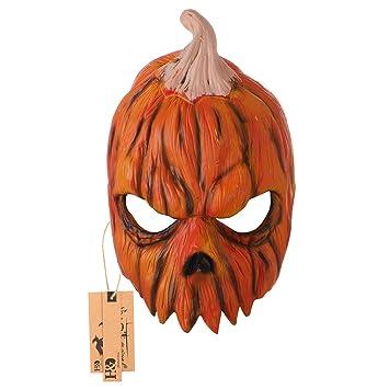 Halloween Jack O farol calabaza máscara de látex Halloween Costume Party Props máscaras (Jack O