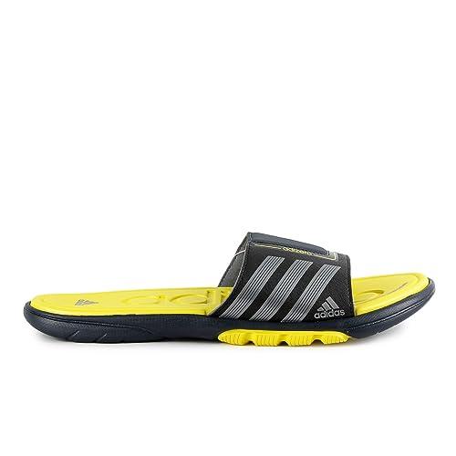 46f34160bdc Adidas Adizero Supercloud 3 Slide - Black Yellow (Men) - 11  Amazon ...