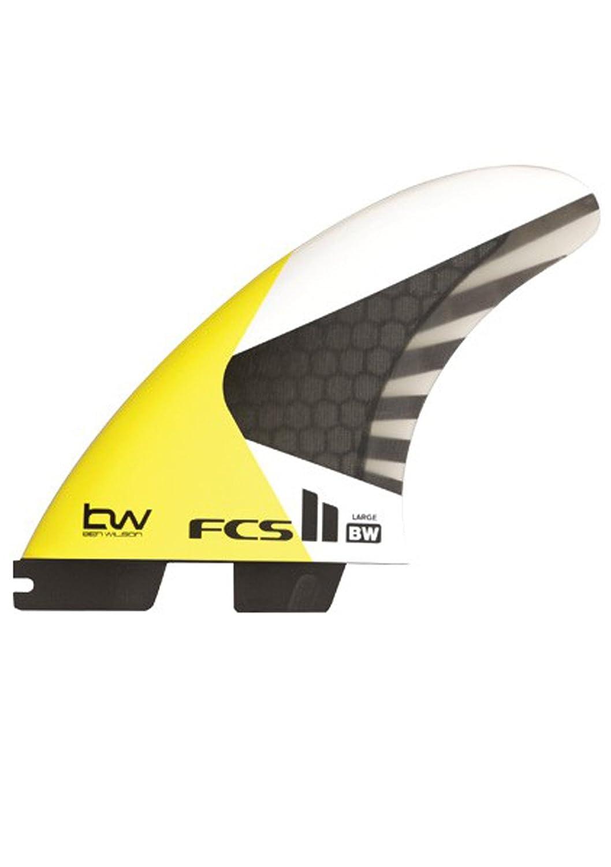FCS II BWカイトサーフィンフィン – Large B06XYVV3MH