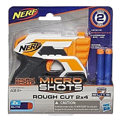 Nerf MicroShots N-Strike Elite Rough Cut 2x4: Toys & Games