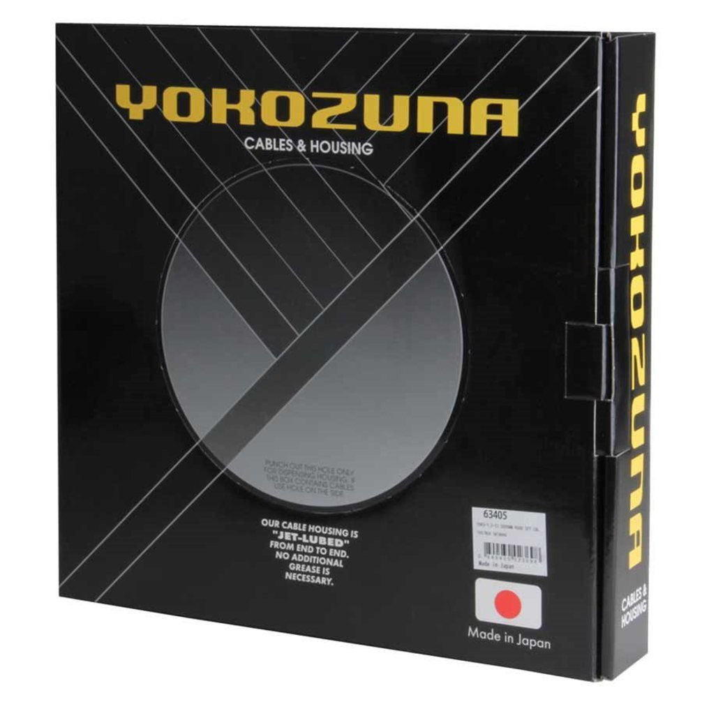Yokozuna Stainless Bicycle Shift Cable File Box - 1.2mm x 100 Cables (Shimano)