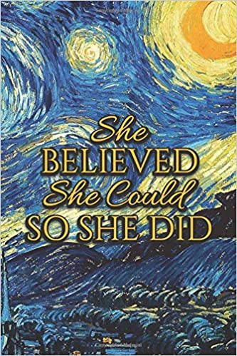 Amazon.com: She Believed She Could So She Did: Monthly ...