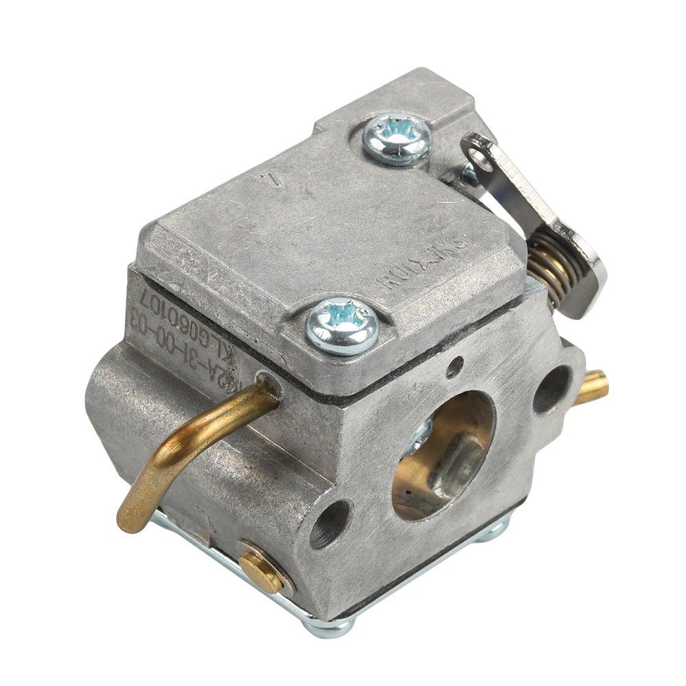 Harbot 753 04408 Carburetor With Tune Up Kit For Troy Genuine Oem Mtd Troybilt 7531225 X3 Bilt Tb320bv Tb310qs Yard Man Ym320bv Ymgbv3100 Ym1000 Ym1500 Ym300 Ym400 Ryobi 320bvr