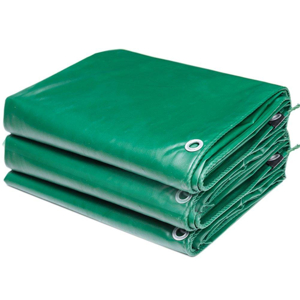 FORTR Home Grüne Plane Wasserdichte Plane Cargo Sonnencreme Isolation verschleißfeste Holz Schutz Tuch Tuch reißfest erhöht Anti-Aging (Farbe   Grün, Größe   4x5M)