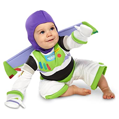 Disney Deluxe Buzz Lightyear Costume for Baby Toddlers Halloween (12-18 Months)  sc 1 st  Amazon.com & Amazon.com: Disney Deluxe Buzz Lightyear Costume for Baby Toddlers ...