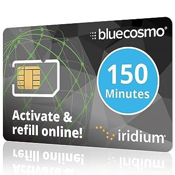 BlueCosmo Iridium teléfono satelital prepago y Servicio de ...