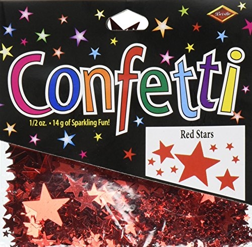 Beistle CN133 Stars Confetti 2 Ounce