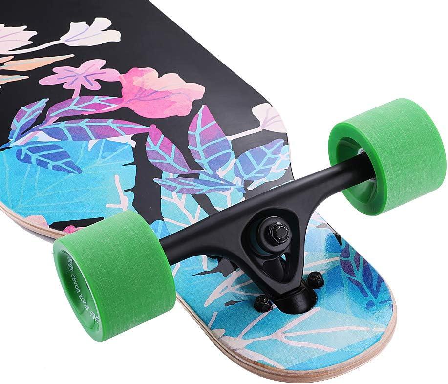 Junli 41 Inch Freeride Skateboard Longboard - 2
