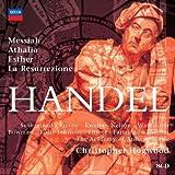 Handel - Messiah · Athalia · Esther · La Resurrezione / Sutherland · Kirkby · Kwella · Nelson · Watkinson · Bowman · Rolfe Johnson · Elliott · Partridge · Thomas · AAM · Hogwood
