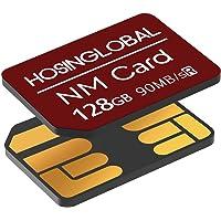 YAOMAISI NM-kaart 128GB 90MB/S nano-geheugenkaart nanokaart alleen geschikt voor Huawei P30/P30pro/P40-serie/Mate20…
