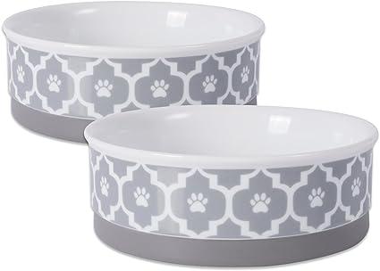 Pet Brands Me to You Ceramic Dog Feeding Bowl 6 inch