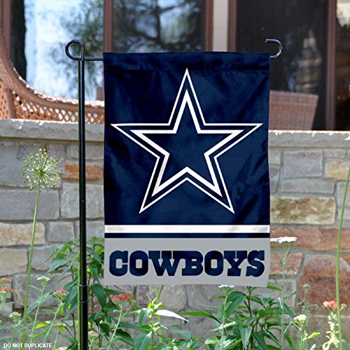 Dallas Cowboys Double Sided Garden (Nfl Wall Border)