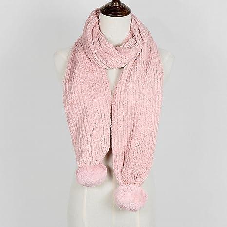 e7225c0e5ddf9 Amazon.com: MKKM Womens Scarves Thick Winter Scarf Wild Warm Collar ...