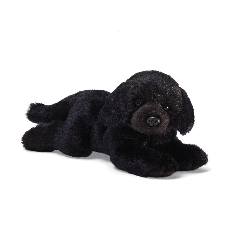 "Amazon Gund Black Labrador Medium 14"" Plush Toys & Games"