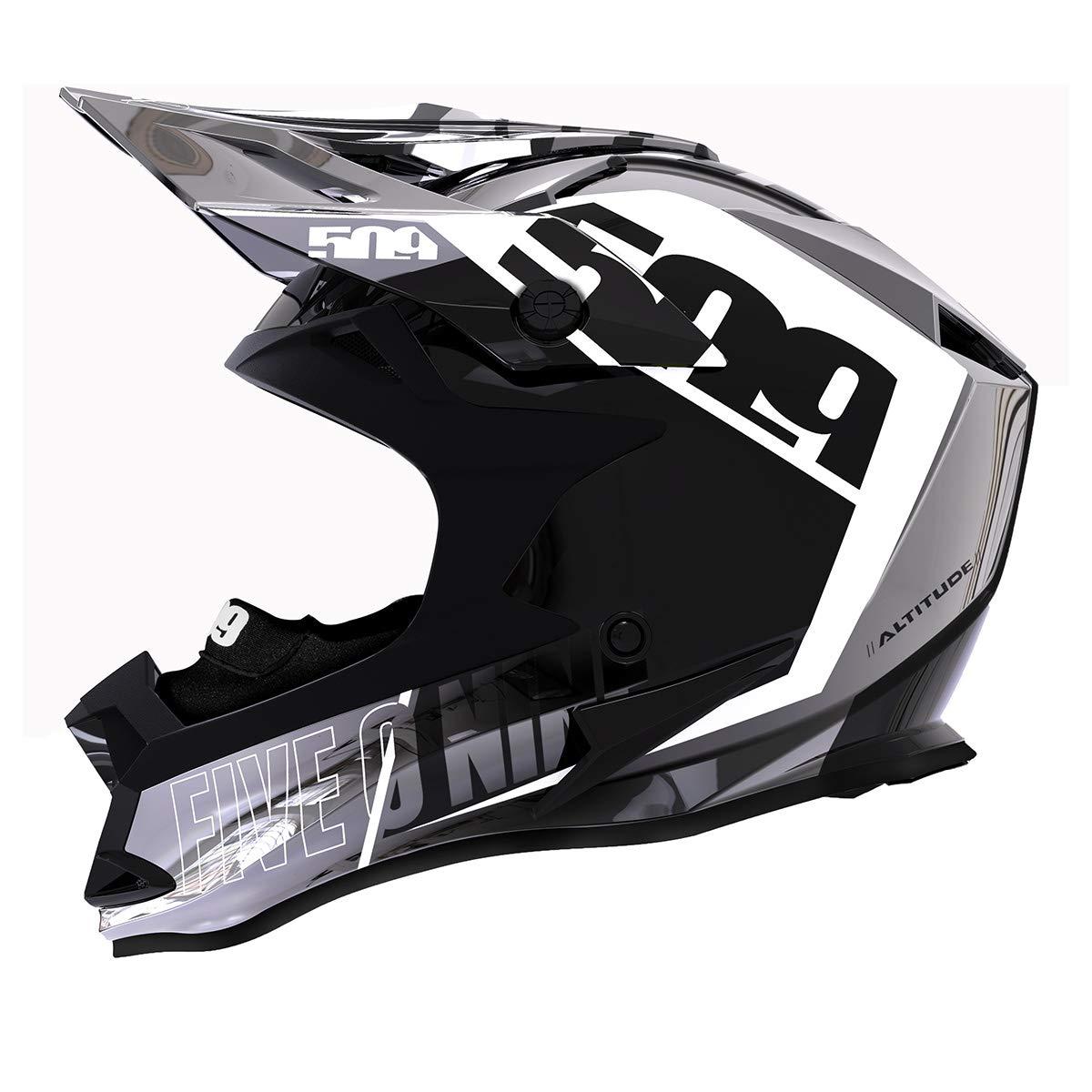 Chromium Stealth - Large Chromium Altitude Helmet with Fidlock 509 Altitude Helmet with Fidlock