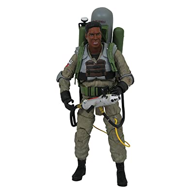 DIAMOND SELECT TOYS Ghostbusters 2 Select: Winston Zeddemore (Slime-Blower Version) Action Figure: Toys & Games