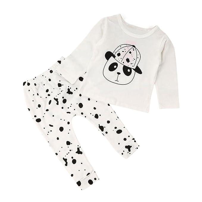 Amazon.com: vovotrade bebé Baby Outfits Juego Ropa Infantil ...