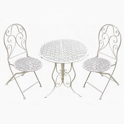 XZG Table et chaise de jardin sur la terrasse du toit Table ...