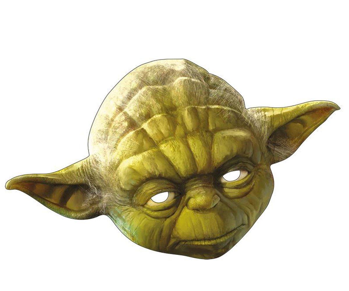 Intergalaktische Star Wars Yoda Maske aus Pappe   Für die gute Seite ...