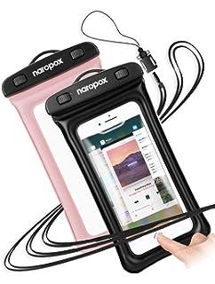502fabd3464 Funda Impermeable de iPhone, Naropox Funda Playa Flotante con IPX8  Certificado Impermeable Waterproof Bolso para