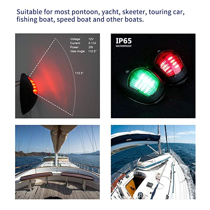 Collection Here Abs Plastic Marine Boat Yacht Light All Round 360 Degree White Led Anchor Navigation Lamp Year-End Bargain Sale Atv,rv,boat & Other Vehicle