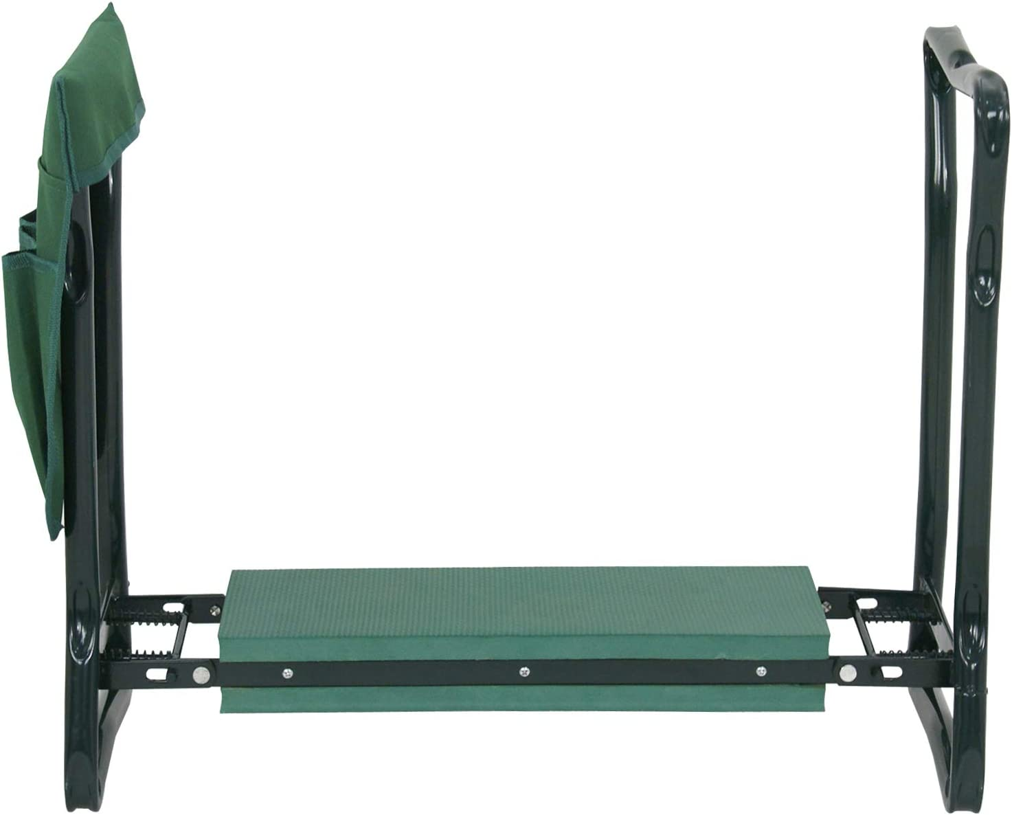 Garden Kneeler Seat with Free Tool Pouch,Foldable Steel Garden Bench with Widen Soft EVA Foam Great Tools for Gardeners Protect Your Knees