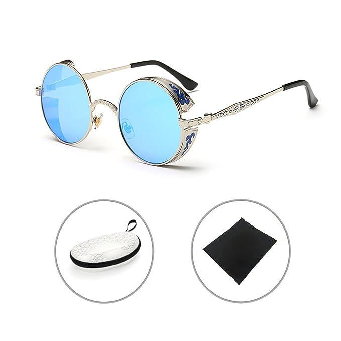 Retro gafas de sol Steampunk Metal Vintage Gótico Sunglasses ...