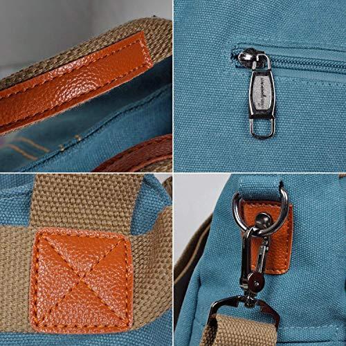 Hobo Kopen Handtassen Vintage Crossbody Blauw Handtas Tassen Schoudertas Damesportemonnee Canvas BtTqAF1
