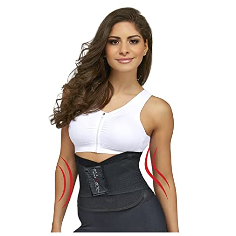 d3e78f0630 Amazon.com  Genie Hourglass Waist Trainer Belt (Black 1X 2X ...