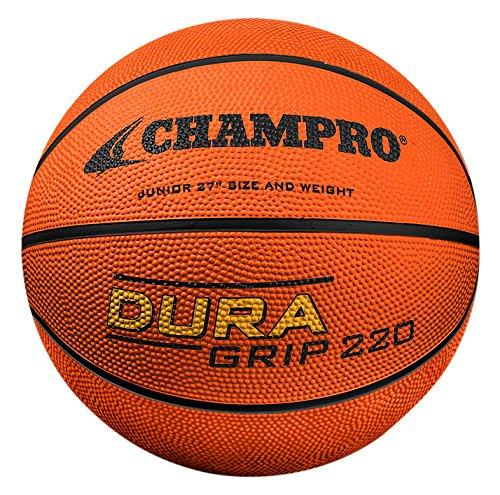 "CHAMPRO Rbbr Basketball, Orange, 27"""