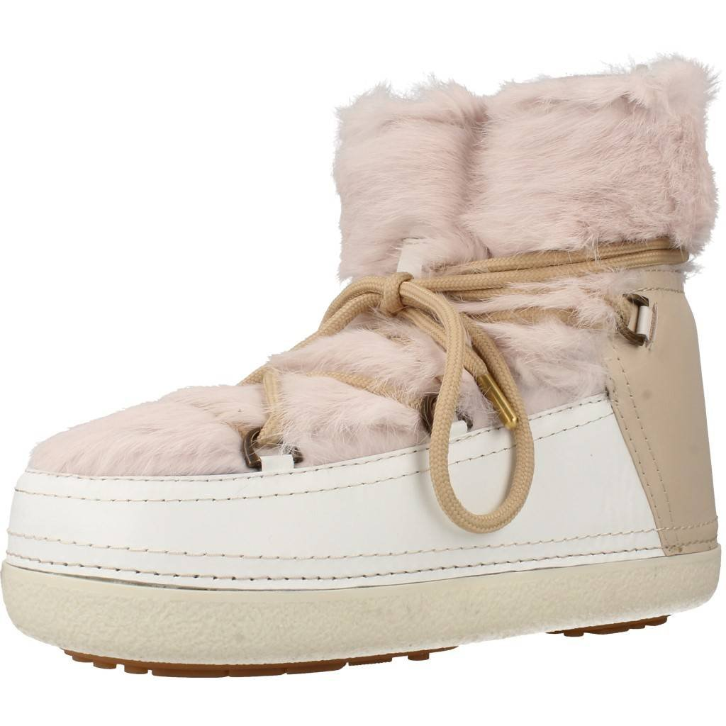 INUIKII Stiefelleten Stiefel Damen, Farbe Beige, Marke, Modell Stiefelleten Stiefel Damen Rabbit Low Beige