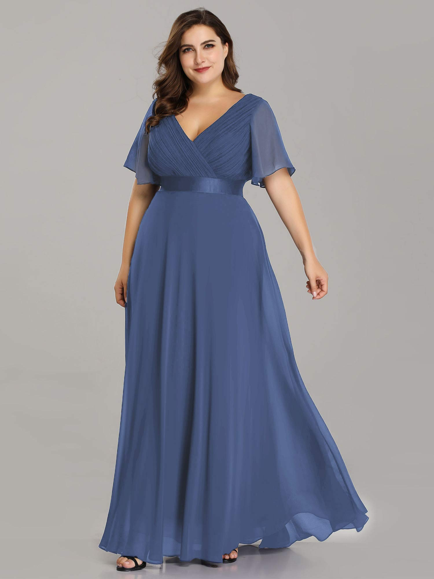 Line Bridesmaid Dress Plus Size
