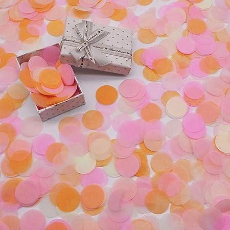 TingHong Faddish 2 Bolsas Coloridas Globo con Confeti Boda ...