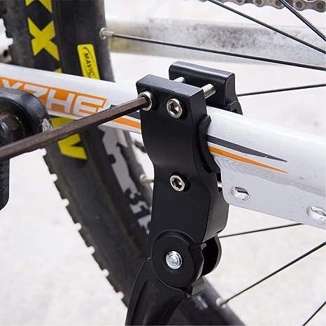 sgfd Accesorios para Equipos de Bicicleta Soporte de Bicicleta de montaña Soporte Lateral de pie de MTB Soporte de Marco de estacionamiento Suministros de Bicicleta: Amazon.es: Deportes y aire libre