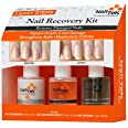 Nail Tek New Restore Damaged Nails Kit, Intensive Therapy Foundation and Renew, 0.5 fl. oz. (55840)