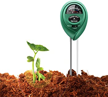 Covery 3 in 1 Easy Read Indicator Soil pH Tester