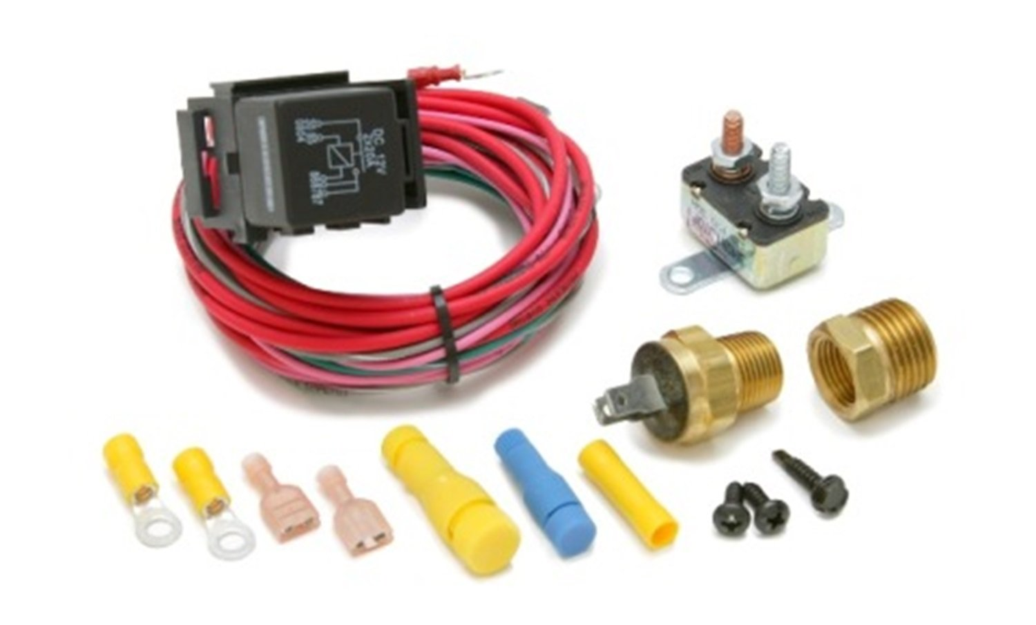 Painless 30114 Dual Activation Electric Fan Relay Kit