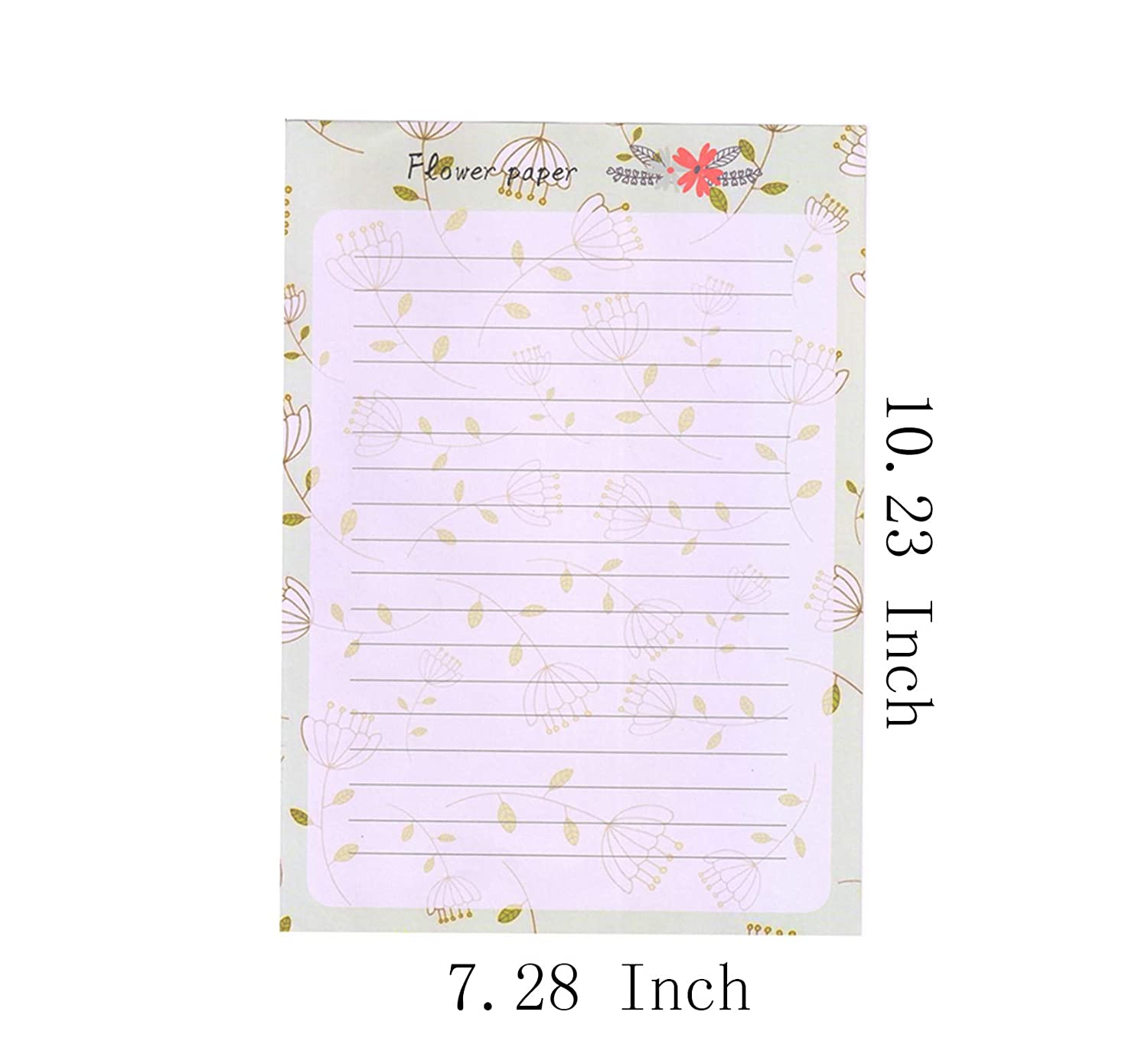 8/different Style Style-10 Funcoo 64/retro design writing Stationery Paper Pad Letter set