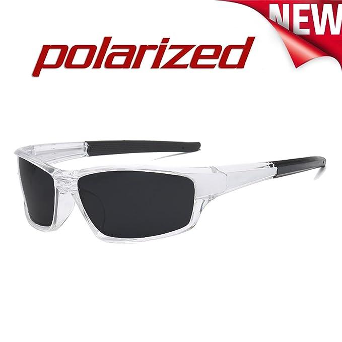 JULI Moda Polarizadas Deportes Gafas de sol Hombre Mujer D620