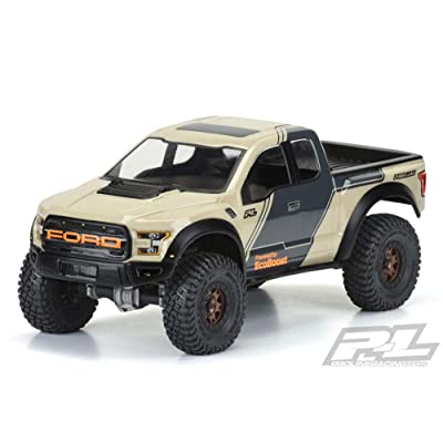 Pro-line Racing 1/10 2020 Ford F-150 Raptor Clear Body with 12.3 Wheelbase: 1/10 Rock Crawlers, PRO351600: Toys & Games