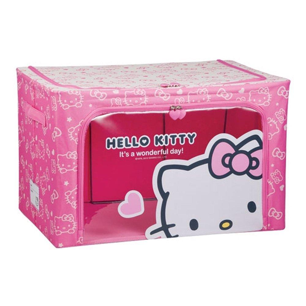 Lock & Lock Hello Kitty fabric holder 66L Pink LKT156P