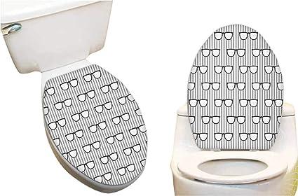 Groovy Amazon Com Toilet Toilet Lid Decal Sticker Groovy Popular Evergreenethics Interior Chair Design Evergreenethicsorg