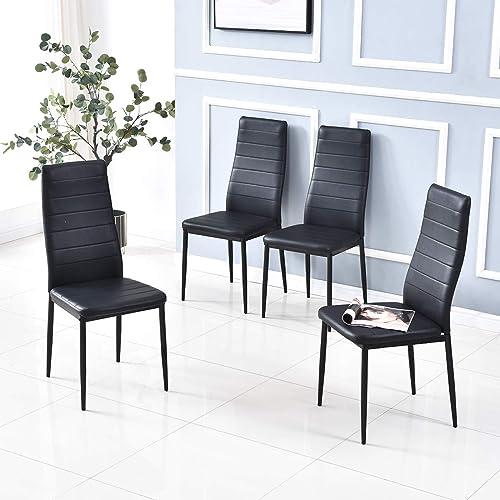 Baoksma Dining Chairs Set of 4 Kitchen Modern Chairs