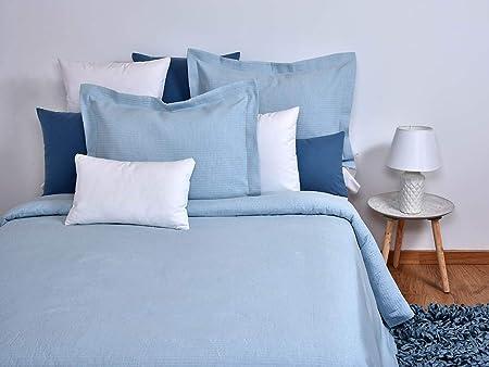 MI CASA 250X270 Azul Colcha Vogel (Cama 150), 80% Algodón, 20% Poliéster: Amazon.es: Hogar