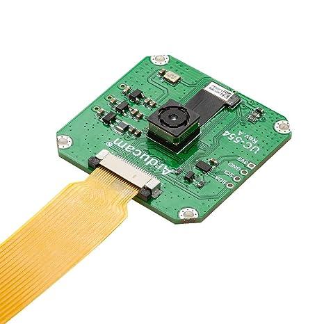 Amazon com: Arducam 13MP Pi Camera 4K, 1/3 Inch IMX135 for