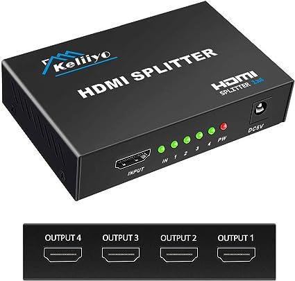 Full HD 3D 1080P 2in1 HDMI Kabel Splitter Verteiler Switch eNwrg fen85