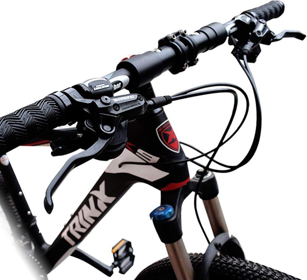 Aluminum Alloy Mountain Bike Road Bicycle Fixed Gear Riser Bar Handlebar 25.4mm520mm Blue Tbest Riser Handlebars