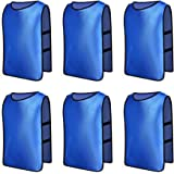 Senston 6/12 X Sports Training Bibs Juniors and Adults Football/Soccer/Rugby Vests Bibs - 6 Colors and 3 Size